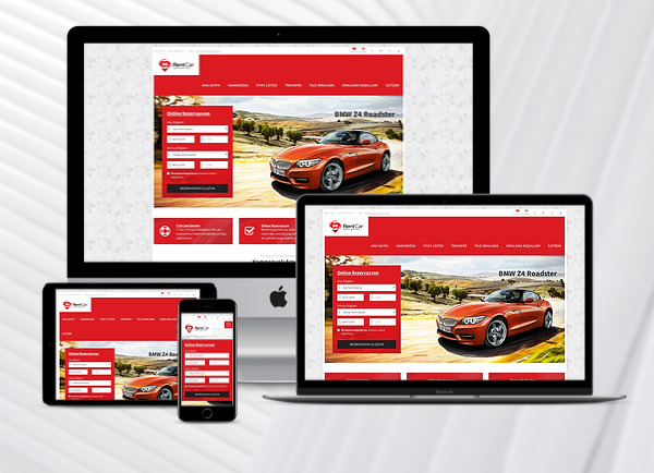 Rent A Car Web Paketi Speed Ver3.0